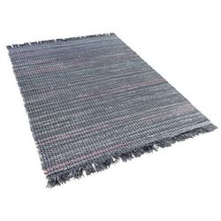Dywan szary bawełniany 140x200 cm besni marki Beliani
