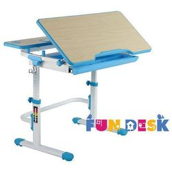 Lavoro l blue - regulowane biurko marki Fundesk