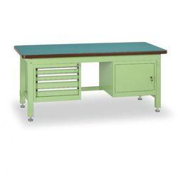 Stół warsztatowy z szafką i szufladowym kontenerem