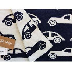 Lula design bawełniany kocyk niemowlęcy samochody 795 | u nas skompletujesz całą wyprawkę | szybka wysyłka