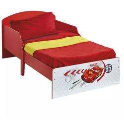 łóżko dziecięce auta, 142x59x77 cm, czerwone, worl320002 marki Disney