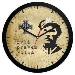 Zegar ścienny Bohaterowie Wyklęci, ATE2013NSZ