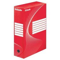 Pudełko archiwizacyjne ESSELTE boxy 100 mm poj. 1000 kartek czerwone (5902812336641)