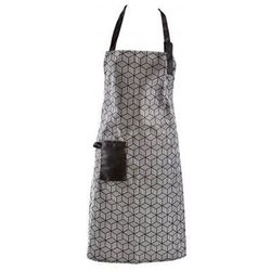 fartuch kuchenny galzone biało-czarny - g251093 od producenta Bovictus