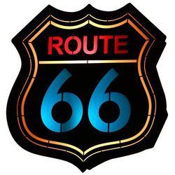 Arlet Route 66 Dziecięca Aldex 821S2 37cm czarny-czerwony-niebieski (5904798636609)