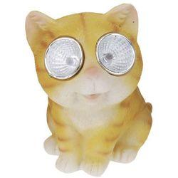 Lampa solarna 10 cm kot żółty - zółty - sprawdź w wybranym sklepie