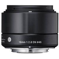 Sigma 19 mm f/2,8 DN A (czarny) Sony E - produkt w magazynie - szybka wysyłka!