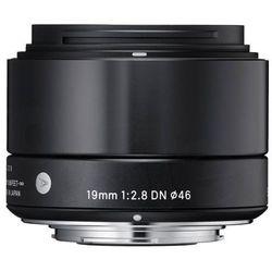 Sigma 19 mm f/2,8 DN A (czarny) Sony E - produkt w magazynie - szybka wysyłka! - produkt z kategorii- Obiekty