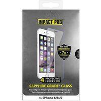 Puro  sapphire tempered glass - szkło ochronne hartowane na ekran iphone 7 / iphone 6s / iphone 6 (8033830188
