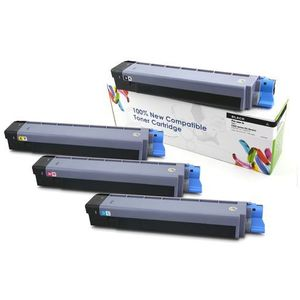 Cartridge web Toner cw-o822yn yellow do drukarek oki (zamiennik oki 44844613) [7.3k] (5902335705221)