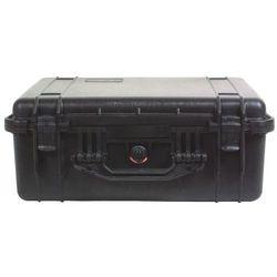Peli 1550 pudło z piankową wkładką szary/biały czarne 2018 skrzynie transportowe