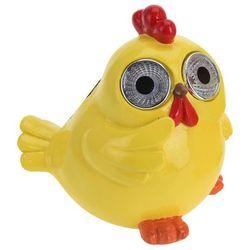 Lampa solarna kurczak figurka ozdobna żółty na l marki Progarden