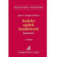 Kodeks spółek handlowych Komentarz (ilość stron 1516)