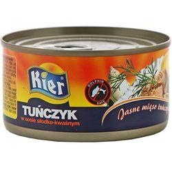 KIER 185g Tuńczyk w sosie słodko-kwaśnym | DARMOWA DOSTAWA OD 200 ZŁ - produkt z kategorii- Konserwy i prz