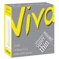 Cienkie prezerwatywy Viva Super Thin 3 szt. 046174