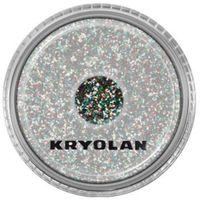 polyester glimmer medium (multicolor) średniej grubości sypki brokat - multicolor (2901) marki Kryolan