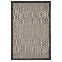 dywan modern geometric black/ sand 160x230cm, 160x230cm marki Dekoria