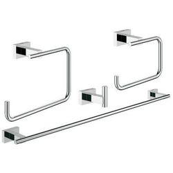 Grohe zestaw akcesoriów 4w1 Essentials Cube 40778001 - produkt z kategorii- Pozostałe artykuły hydrauliczne