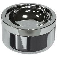 Popielniczka metalowa (śred.11 cm) chrom polerowany