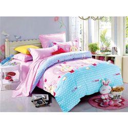Strefa bawełny Komplet pościeli bawełnianej dla dzieci 160 x 200 cm - mk4 (5902921960287)