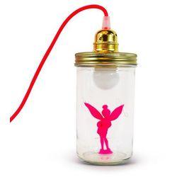 FEE - Lampa stojąca/przenośna Różowy Fluo Wys.17,5cm