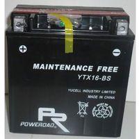 Akumulator motocyklowy Poweroad YTX16-BS 14Ah 230A