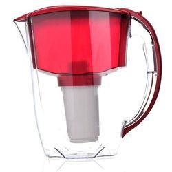 Aquaphor Dzbanek filtrujący  prestige 2,8 l czerwony + 1 wkład b100-5