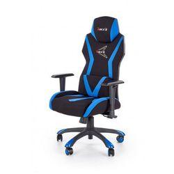 Fotel gabinetowy Euron - czarny + niebieski, V-CH-STIG-FOT-NIEBIESKI