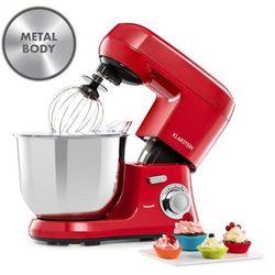 Klarstein Bella Robusta Metal, robot kuchenny, 6 stopni, 5,5 l, 1200 W, kolor czerwony