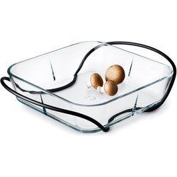 - grand cru - uchwyt-stojak do naczynia żaroodpornego (o wymiarach 24 x 24 cm) marki Rosendahl