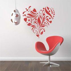 szablon do malowania serce ornament 2339