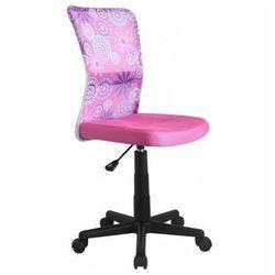 Fotel młodzieżowy Tobin - różowy, V-CH-DINGO-FOT-RÓŻOWY