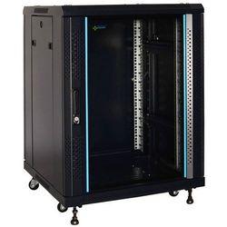 Szafa rack stojąca złożona 15u/600x600 zrs1566gd marki Pulsar
