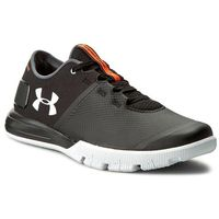 Buty UNDER ARMOUR - Ua Charged Ultimate Tr 2.0 1285648-001 Blk/Wht/Wht