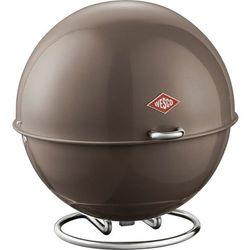 - pojemnik na pieczywo superball - szary - szary wyprodukowany przez Wesco