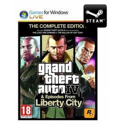 Grand Theft Auto GTA IV: Complete Edition - Klucz z kategorii Kody i karty pre-paid