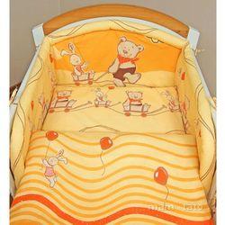 MAMO-TATO pościel 2-el Przyjaciele w pomarańczu do łóżeczka 70x140cm z kategorii komplety pościeli dla dzieci