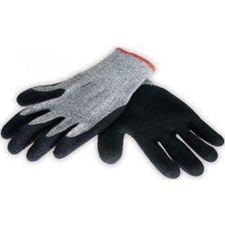 Rękawice ochronne DEDRA BH1004 antyprzecięciowe Szaro-czarny