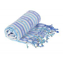 Sauna Łażnia - Hammam Ręcznik 100% Bawełna Pompon 1