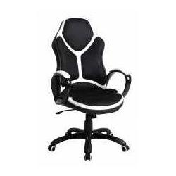 Fotel Holden czarno-biały - ZADZWOŃ I ZŁAP RABAT DO -10%! TELEFON: 601-892-200