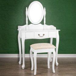 Elegancka toaletka kosmetyczna+taboret05 marki Jago