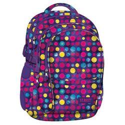 St. majewski St.reet plecak szkolny bp-01 kropki multicolor 608902
