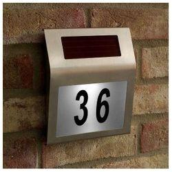 Solarny numer domu