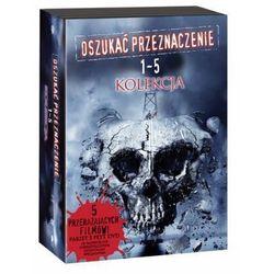 Oszukać przeznaczenie - pakiet filmów 1-5 (5 dvd)  7321909087002, marki Galapagos films