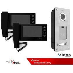 Zestaw dwurodzinny wideodomofonu z czytnikiem kart RFID Vidos S562A_M670B