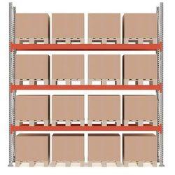 Array Regał paletowy ultimate moduł podstawowy. 16 palet 4000x3600x1100 mm