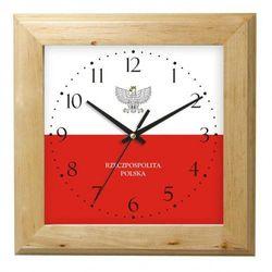 Zegar drewniany Polska