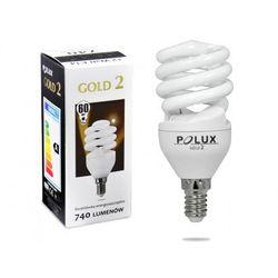 Świetlówka energooszczędna POLUX GOLD 2 mini 12W E14 (świetlówka)