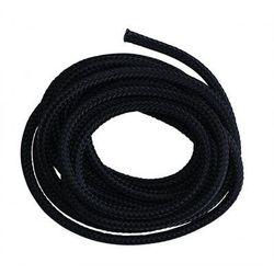 Lina czarna Rope Polyester, Czarny PS-300-9