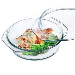 Simax naczynie szklane, okrągłe z pokrywką 3,7 l ,  marki 4home